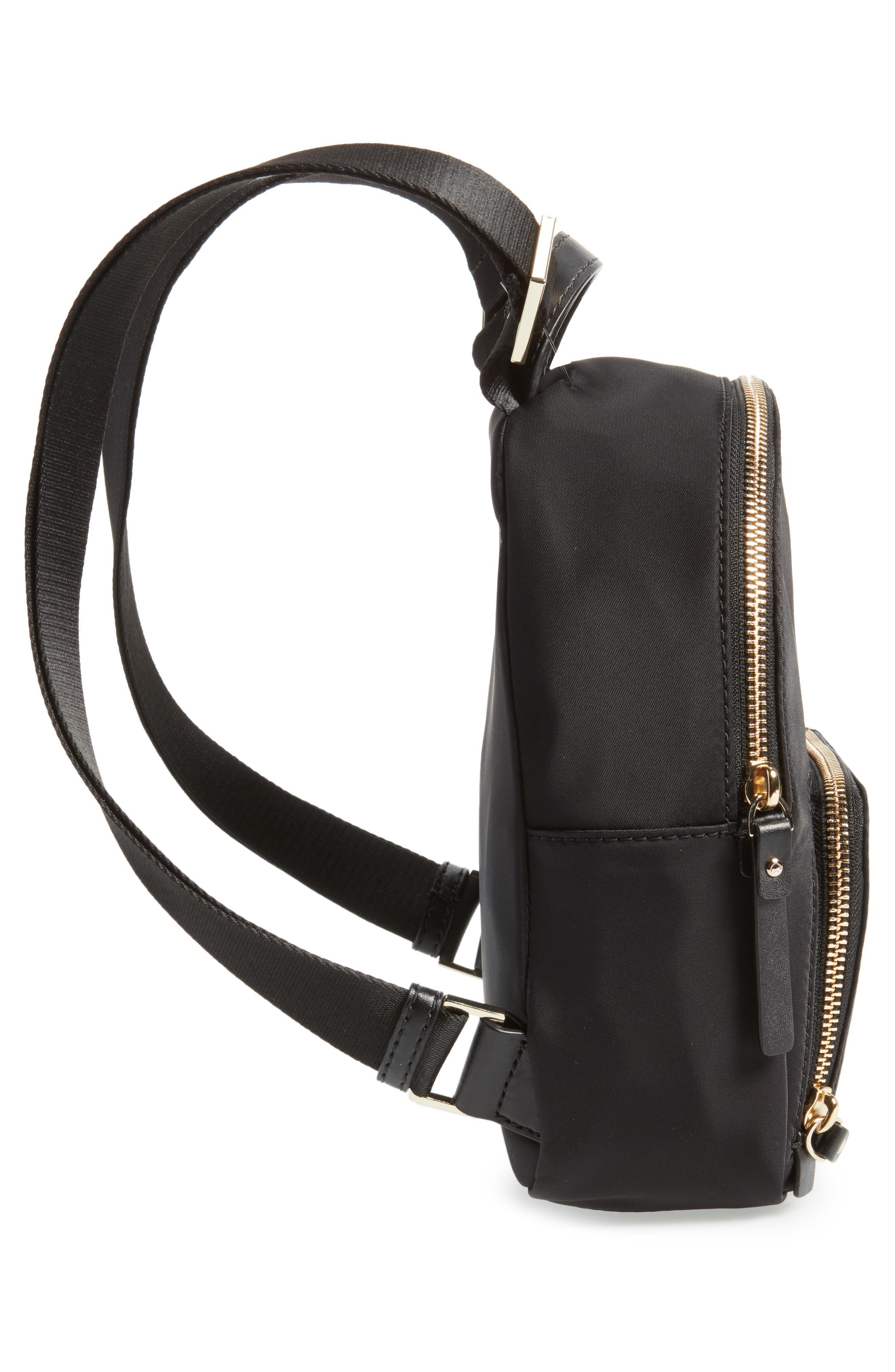 ,                             watson lane - small hartley nylon backpack,                             Alternate thumbnail 6, color,                             BLACK
