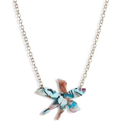 Lele Sadoughi Water Lily Pendant Necklace (Nordstrom Exclusive)