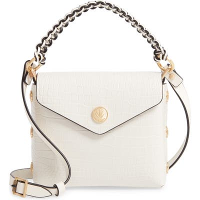 Rag & Bone Micro Atlas Leather Crossbody Bag - White