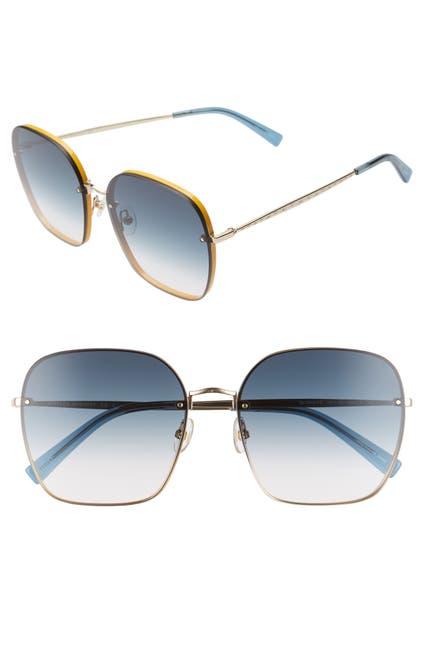 Image of Rebecca Minkoff 60mm Gloria Square Sunglasses
