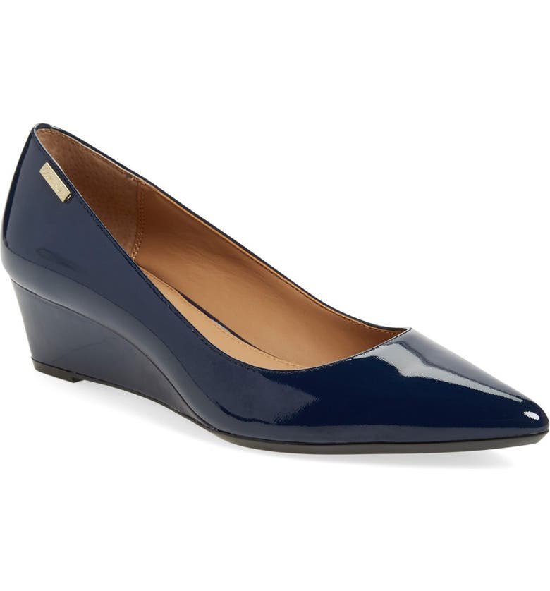 Calvin Klein Germina Pointy Toe Wedge Women