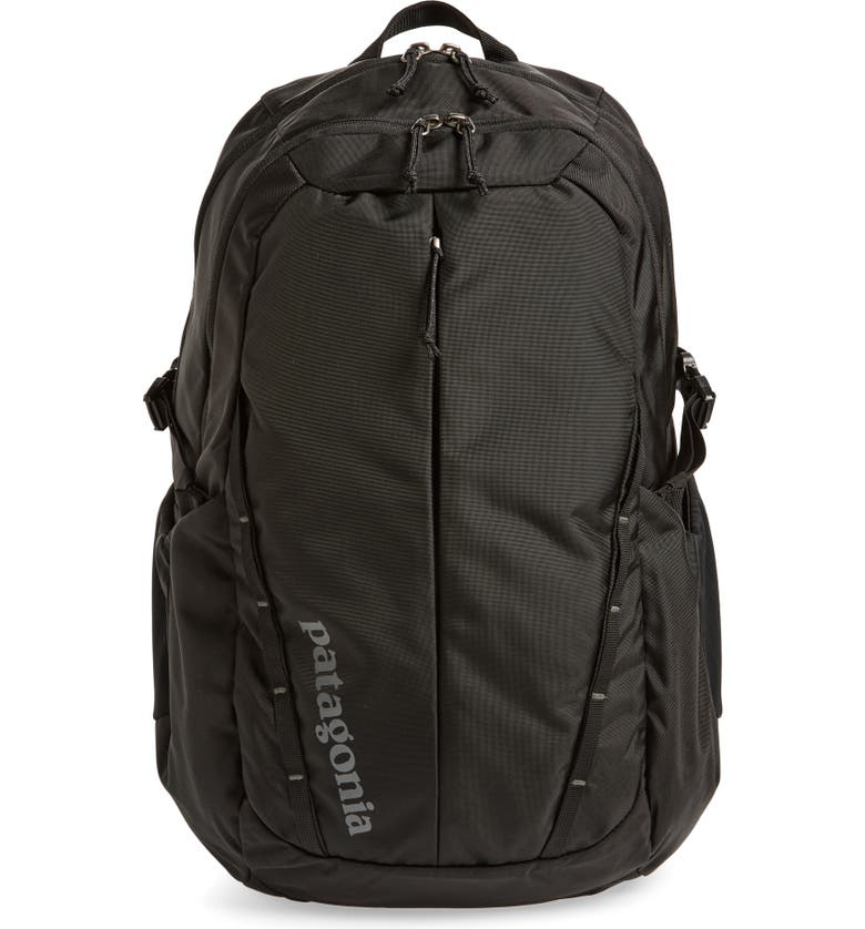 PATAGONIA 28 Liter Refugio Nylon Backpack, Main, color, BLACK