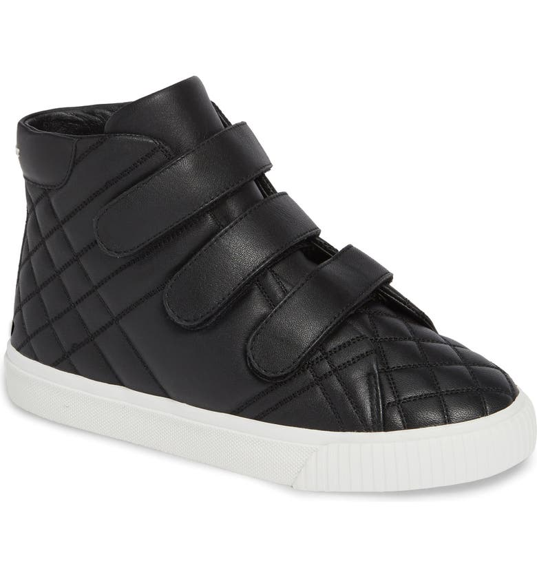BURBERRY Sturrock Hi Top Sneaker, Main, color, 001