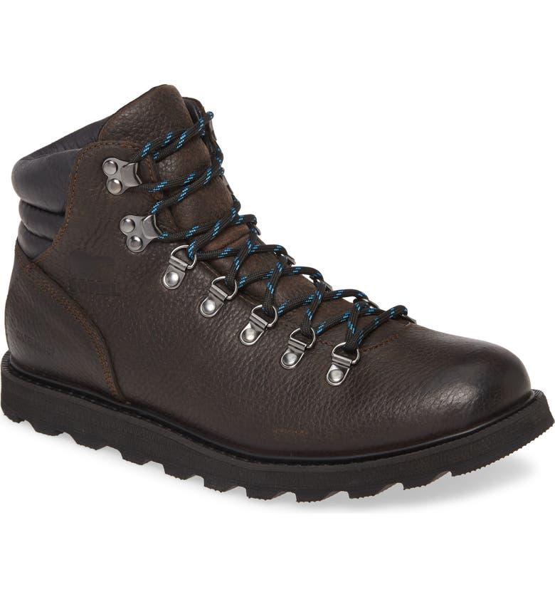 SOREL Madson Waterproof Hiking Boot, Main, color, TOBACCO