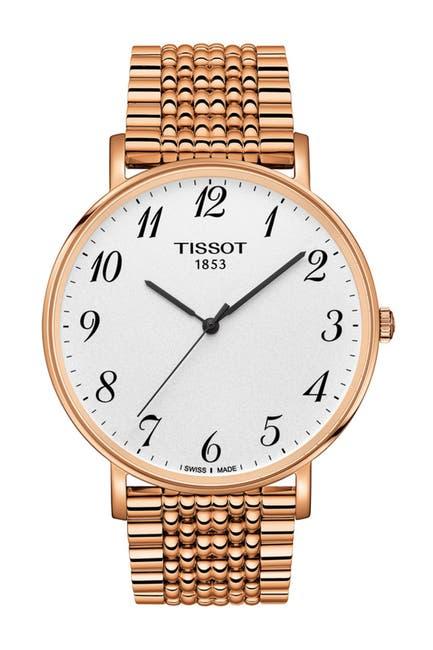 Image of Tissot Men's T-Classic Everytime Bracelet Watch, 42mm
