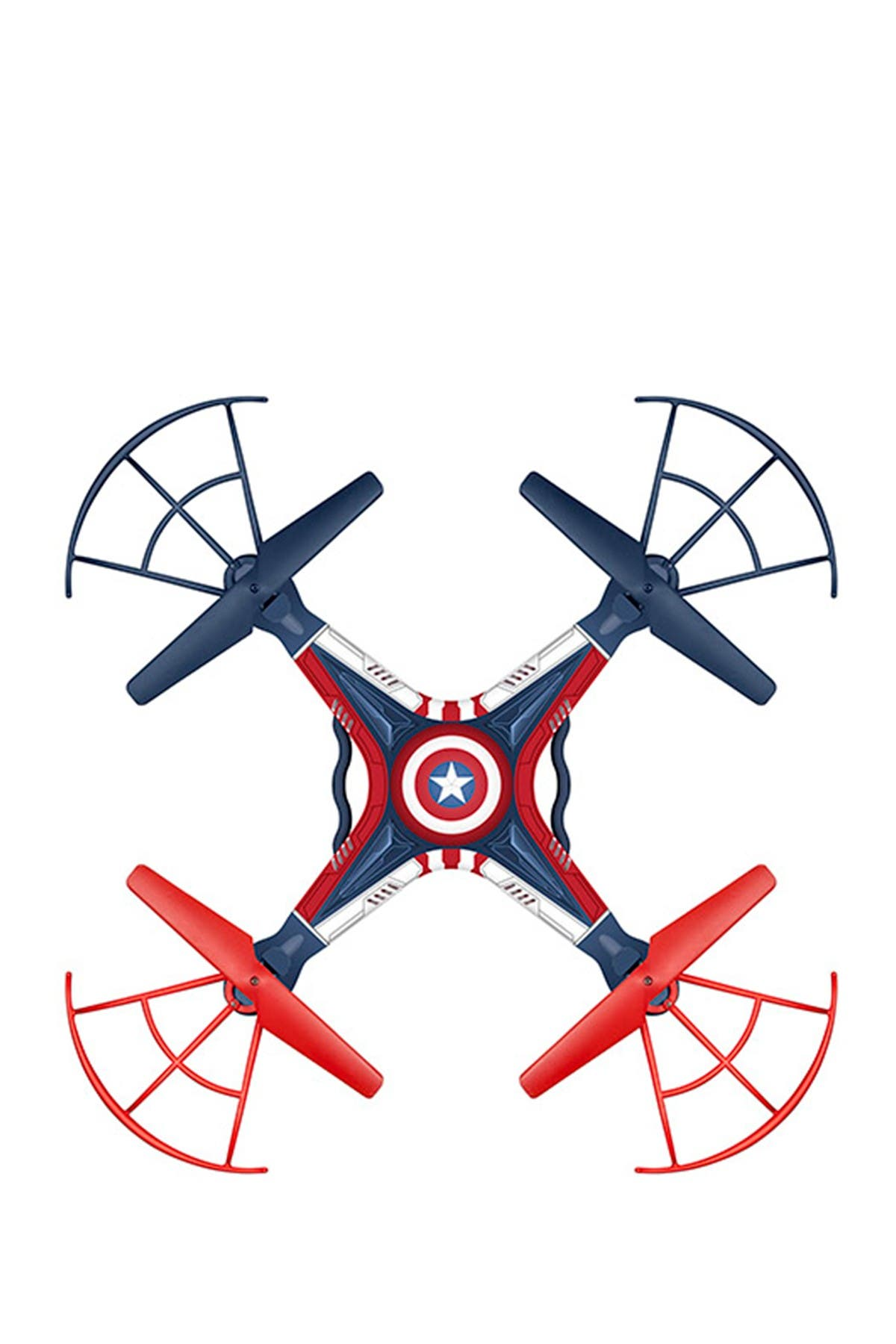 Image of World Tech Toys Marvel Licensed Captain America Sky Hero 2.4GHz 4.5CH RC Drone
