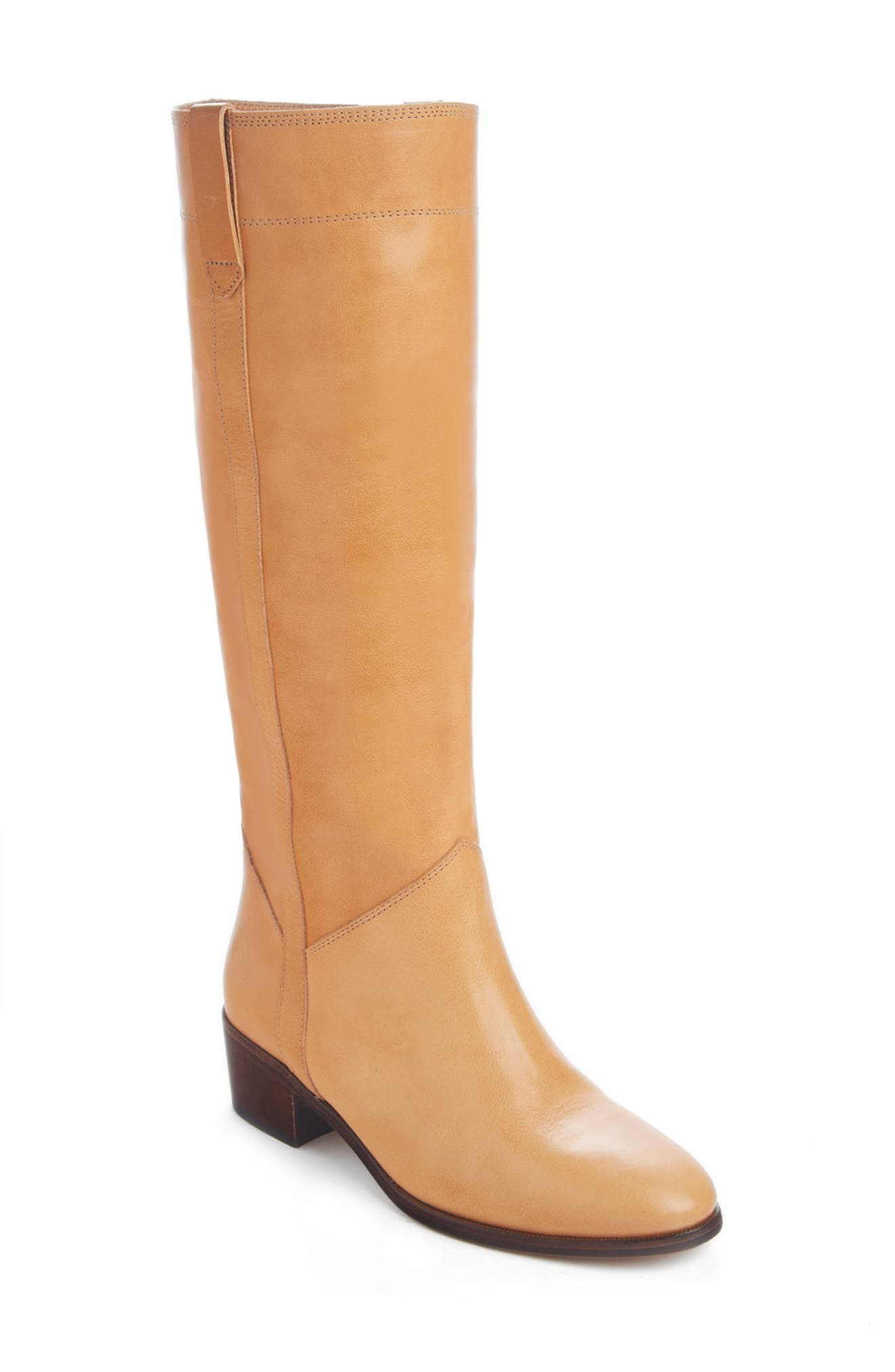 Pre-order this style today! Add to Shopping Bag to view approximate ship date. You\\\'ll be charged only when your item ships. Made from calfskin leather in a perfect, pair-with-everything hue, this knee-high boot with topstitched details and pull tabs is sure to be on heavy rotation. Style Name: Isabel Marant Mewis Knee High Boot (Women). Style Number: 6080090. Available in stores.