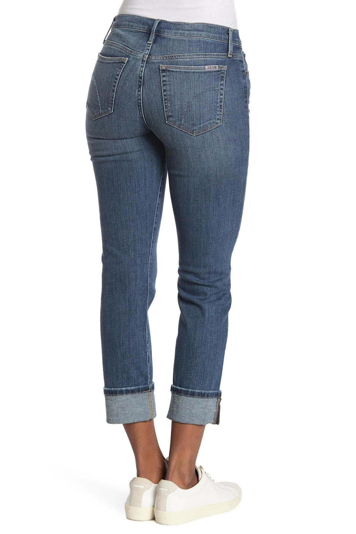 Image of Joe's Jeans Mid Rise Crop Straight Leg Jeans