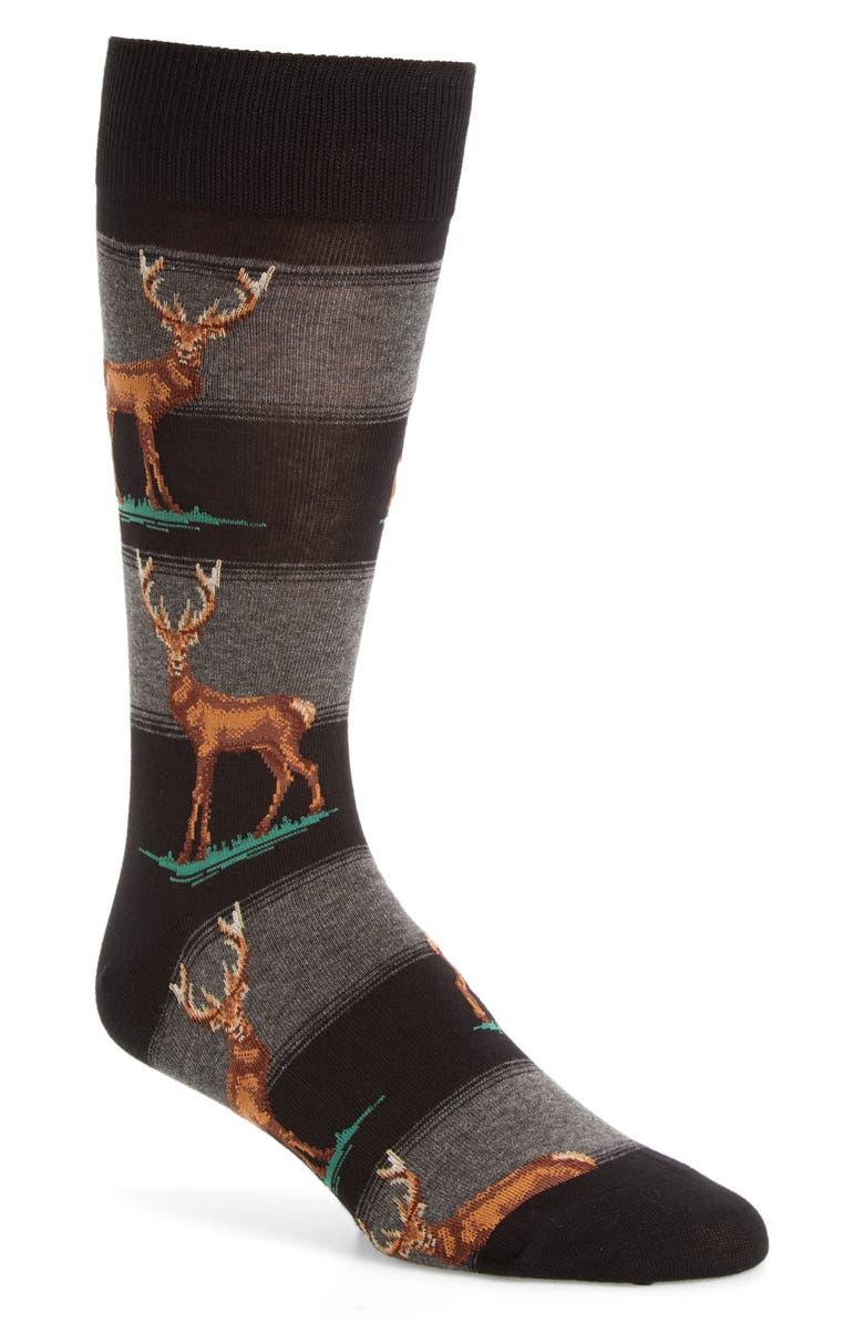 65d2b761eb1c2 Hot Sox 'Elk' Socks | Nordstrom