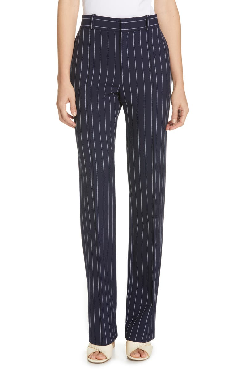 SEE BY CHLOÉ Stripe Suit Pants, Main, color, MISCELLANEOUS
