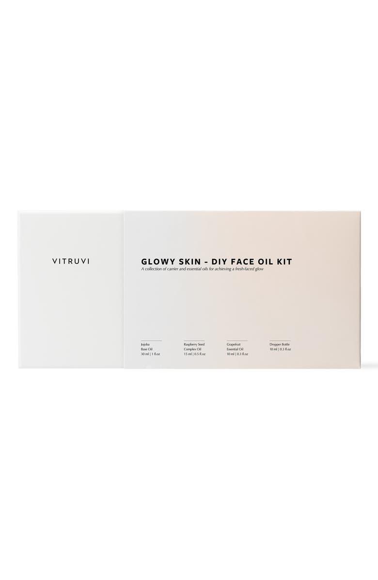 VITRUVI Glowy Skin Do-It-Yourself Face Oil Set, Main, color, NO COLOR