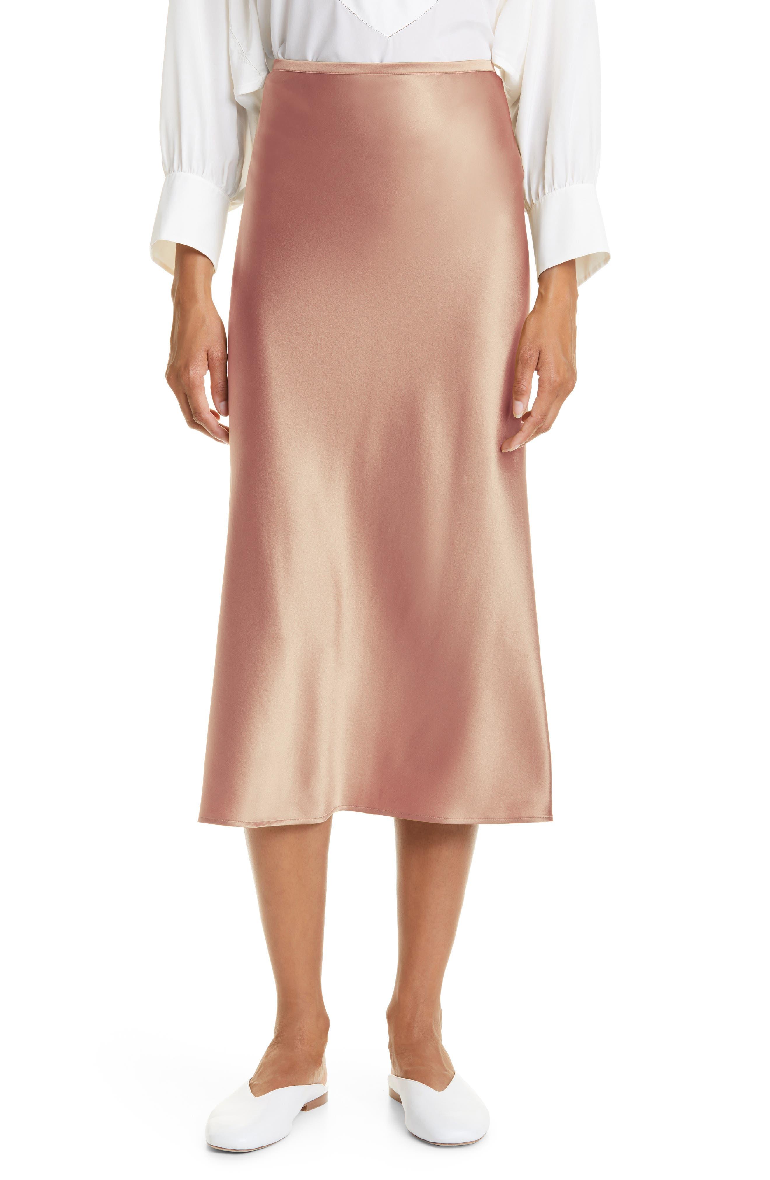 Georgia Silk Skirt