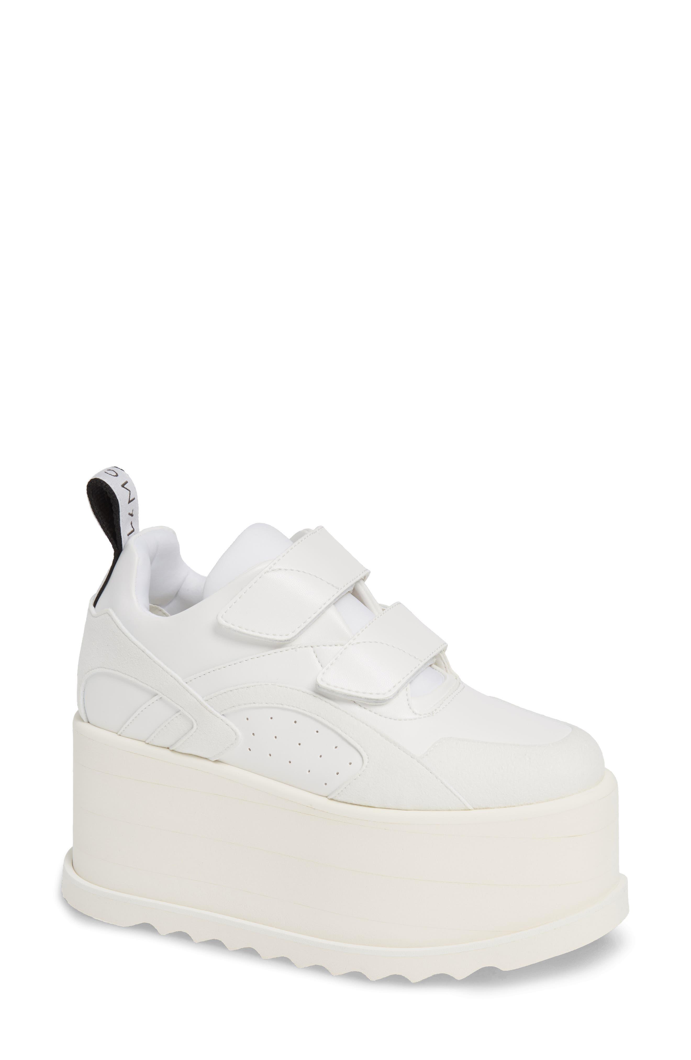 Stella Mccartney Eclypse Platform Sneaker - White