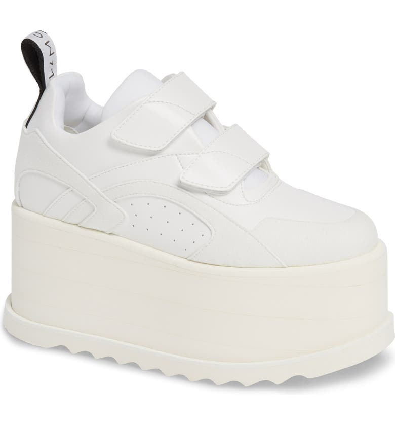 STELLA MCCARTNEY Eclypse Platform Sneaker, Main, color, WHITE