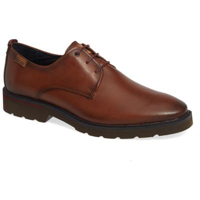 Pikolinos Salou Plain Toe Derby - Brown