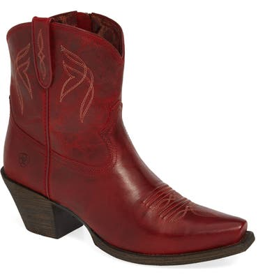 Ariat Lovely Western Boot- Red