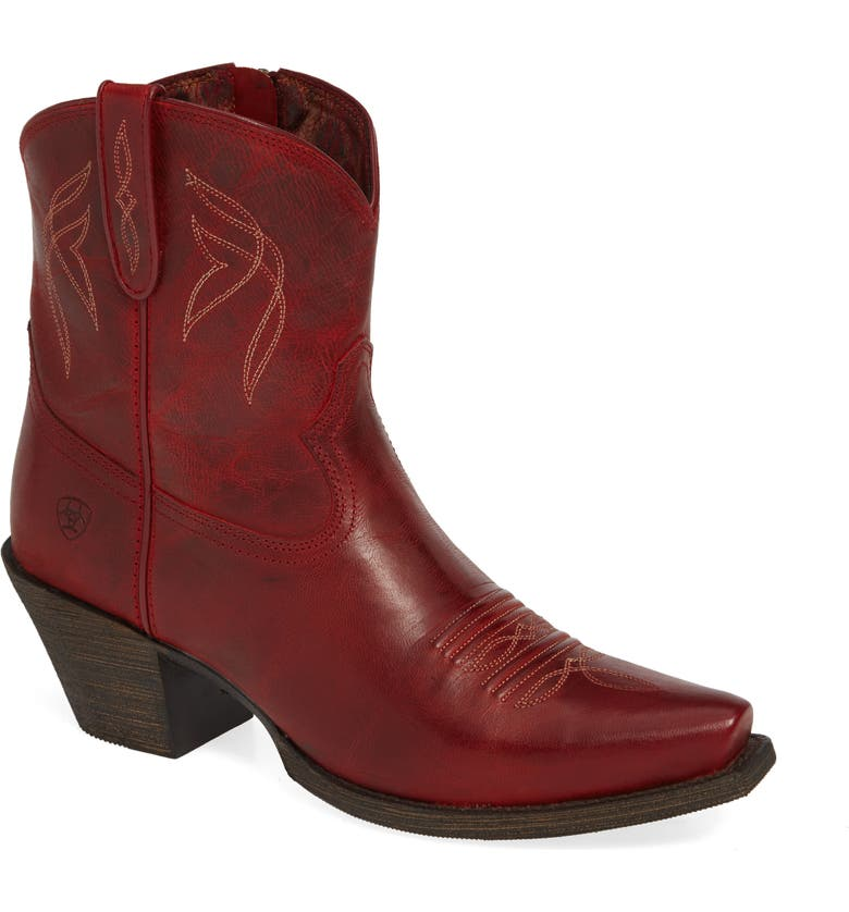 ARIAT Lovely Western Boot, Main, color, GRENADINE LEATHER