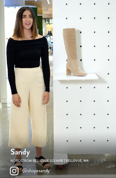 Olly Knee High Boot, sales video thumbnail