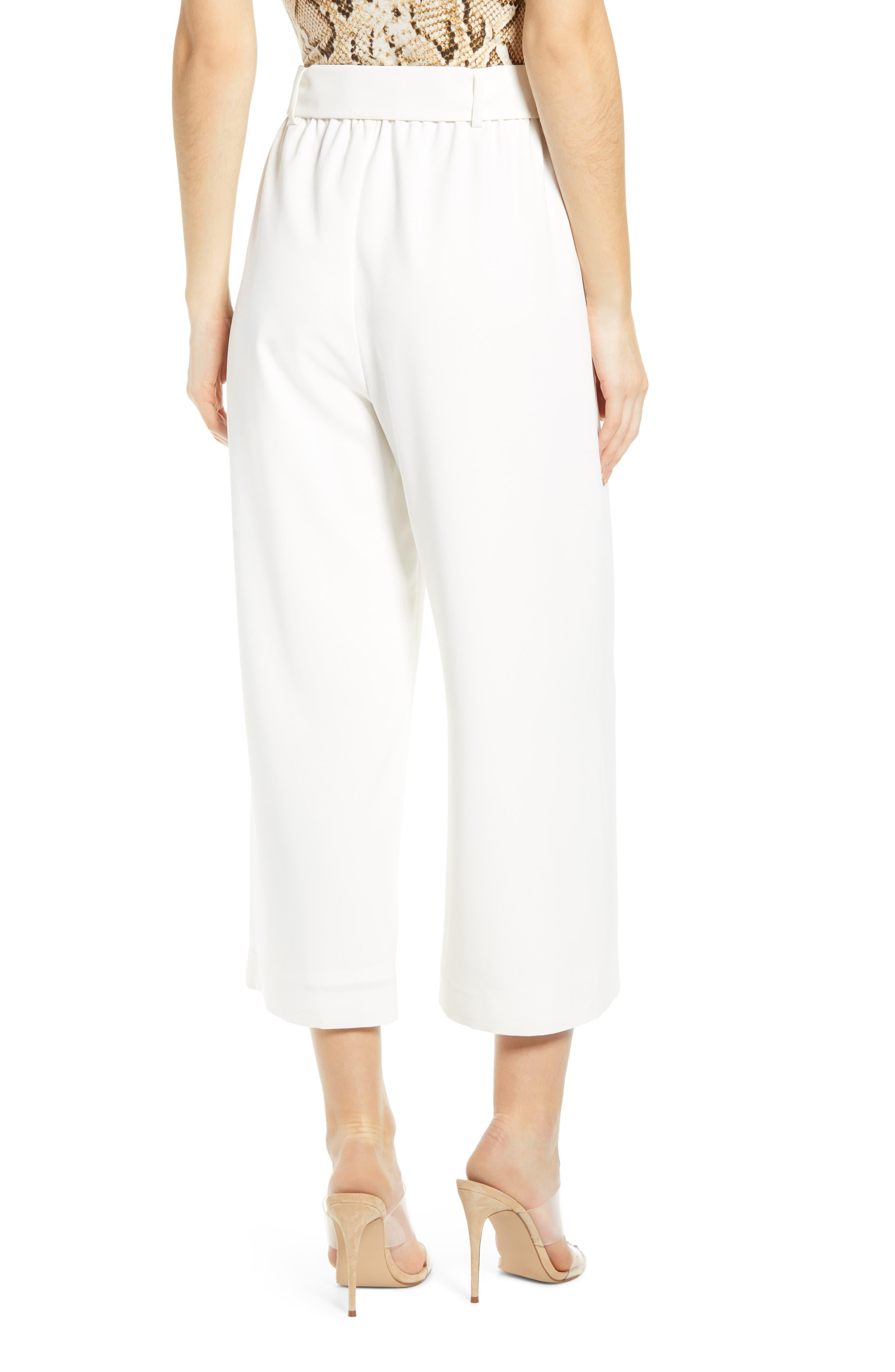 ,                             Layne Pintuck Belted Pants,                             Alternate thumbnail 2, color,                             900