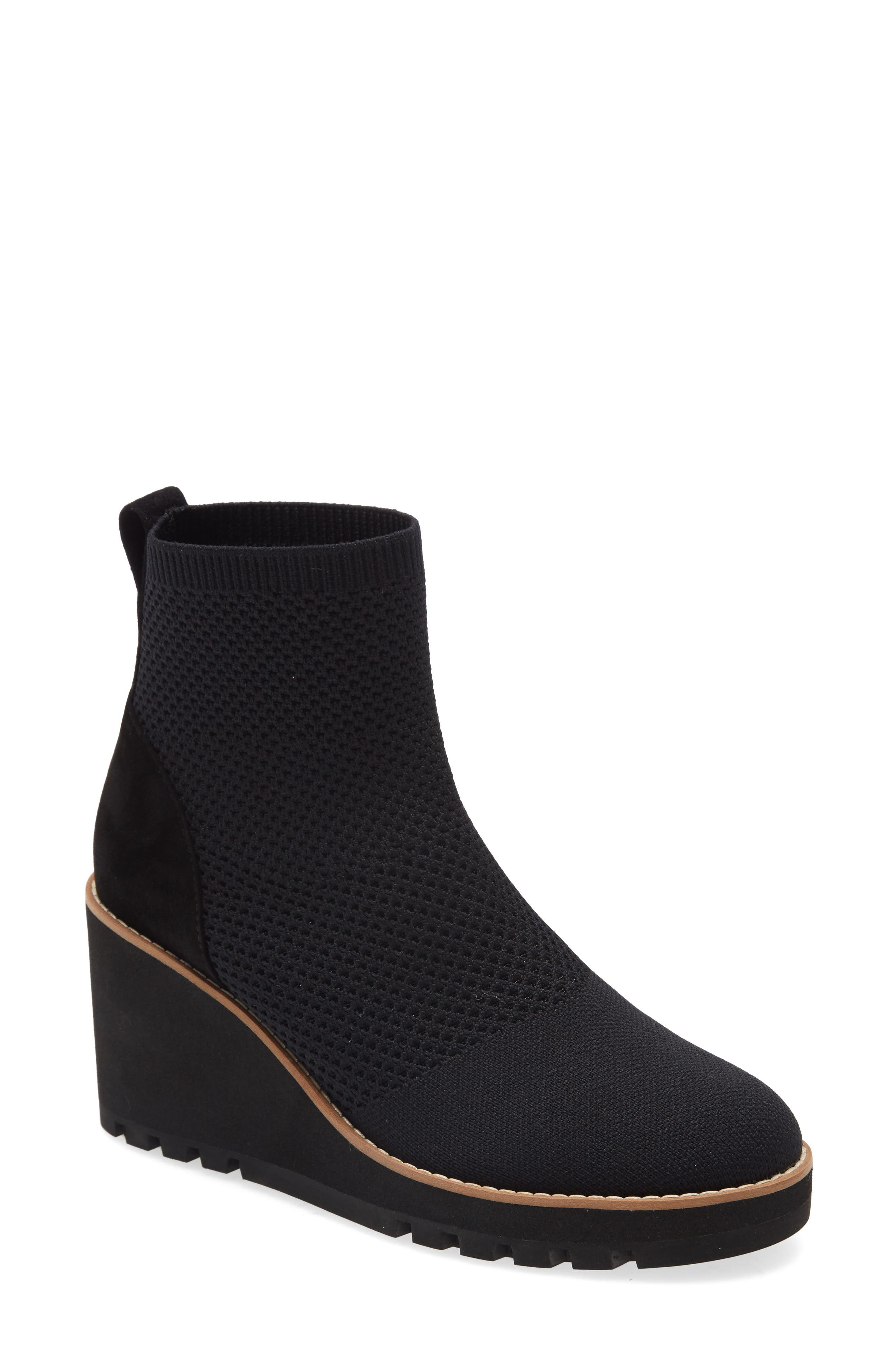 Image of Eileen Fisher Amos Knit Wedge Bootie