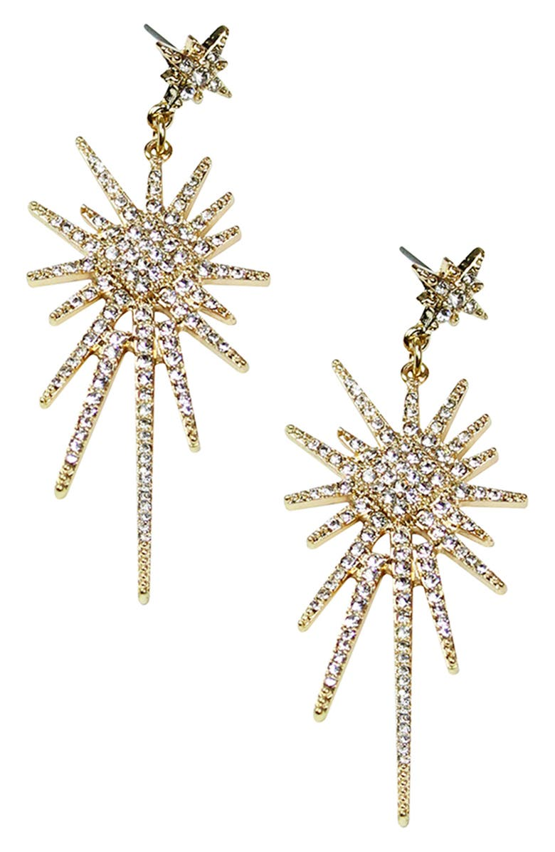 JULES SMITH Open Spark Earrings, Main, color, 710