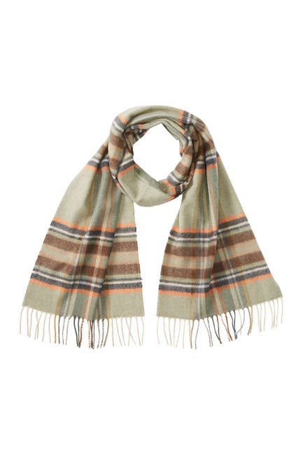 Image of Chelsey Imports Plaid Printed Scarf