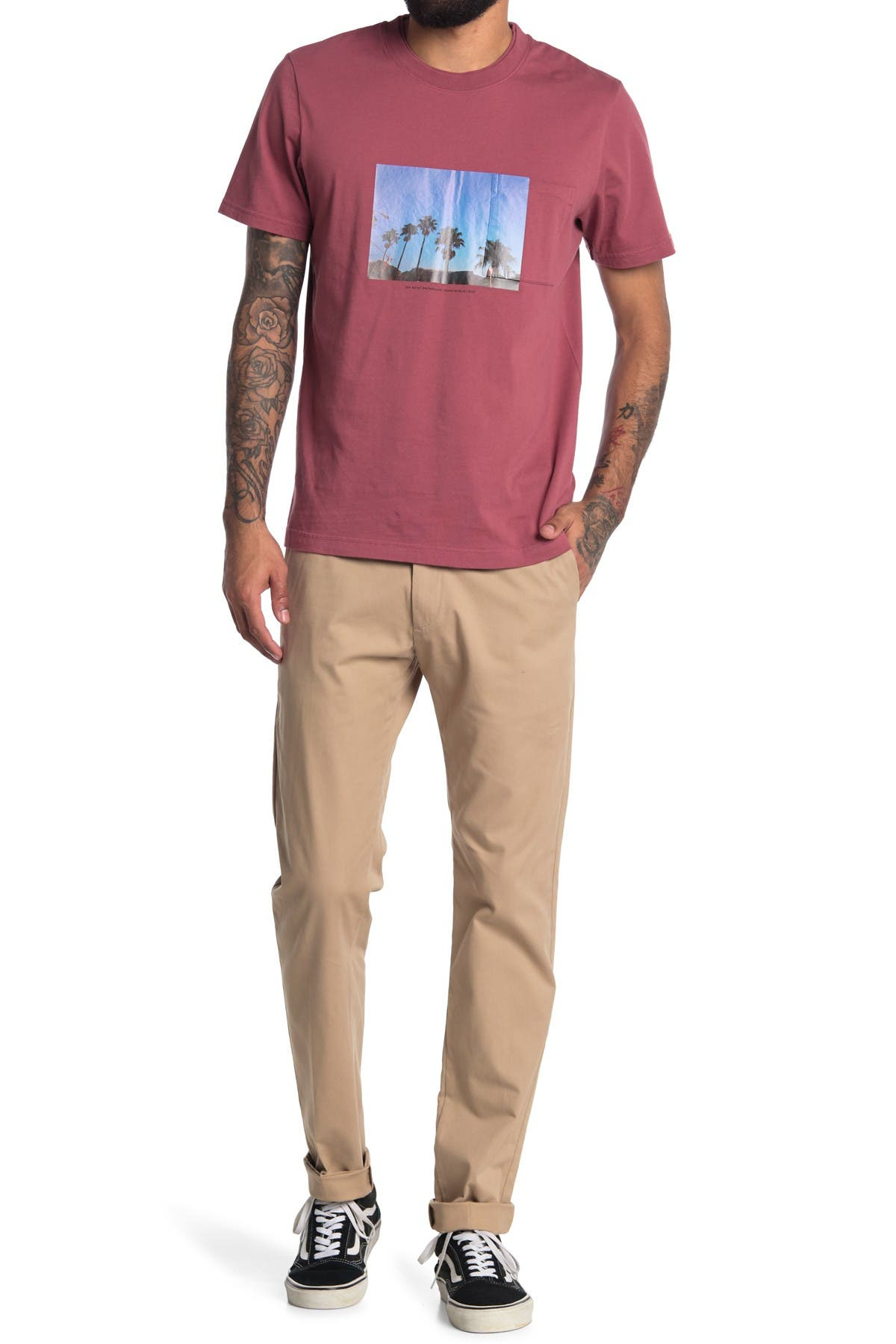 Image of NN07 Theo Tapered Chino Pants