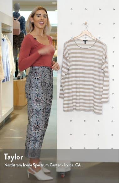 Stripe Organic Linen & Cotton Tunic, sales video thumbnail