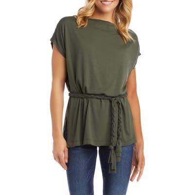 Karen Kane Belted Tunic, Green