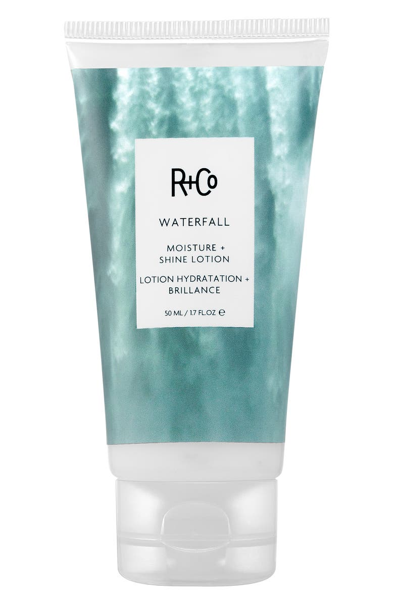 R+CO SPACE.NK.apothecary R+Co Waterfall Moisture Shine Lotion, Main, color, NO COLOR
