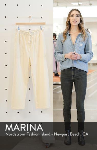 Texture & Thread Velour Corduroy Pants, sales video thumbnail