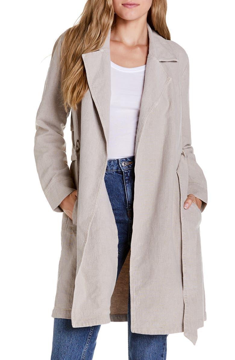 MICHAEL STARS Alisha Trench Coat, Main, color, 250