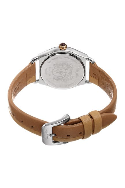 Image of Bruno Magli Women's Lucia 1341 Two-Tone Leather Strap Watch, 31mm