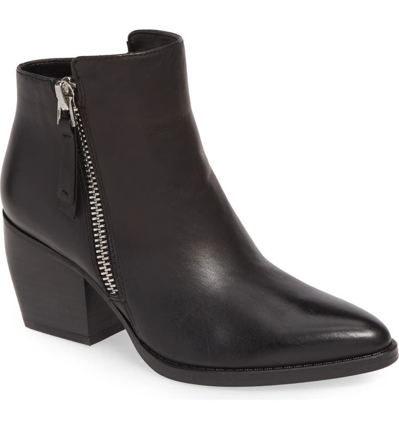 NATURALIZER Freya Bootie, Main, color, BLACK LEATHER