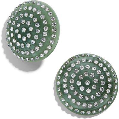Baublebar Beta Button Stud Earrings