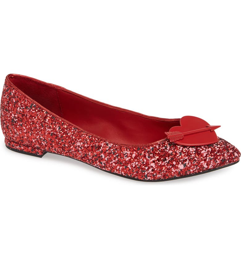 KATY PERRY Cupid Heart Flat, Main, color, 600