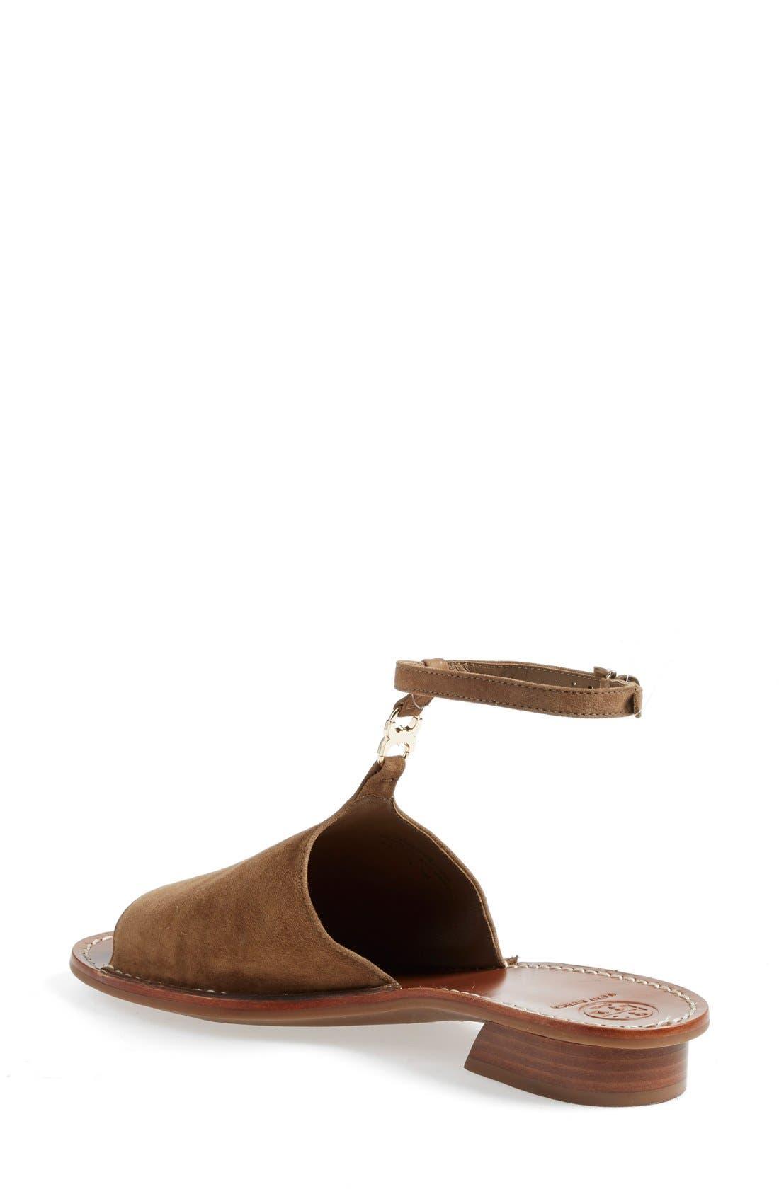 ,                             'Gemini Link' Ankle Strap Sandal,                             Alternate thumbnail 4, color,                             037