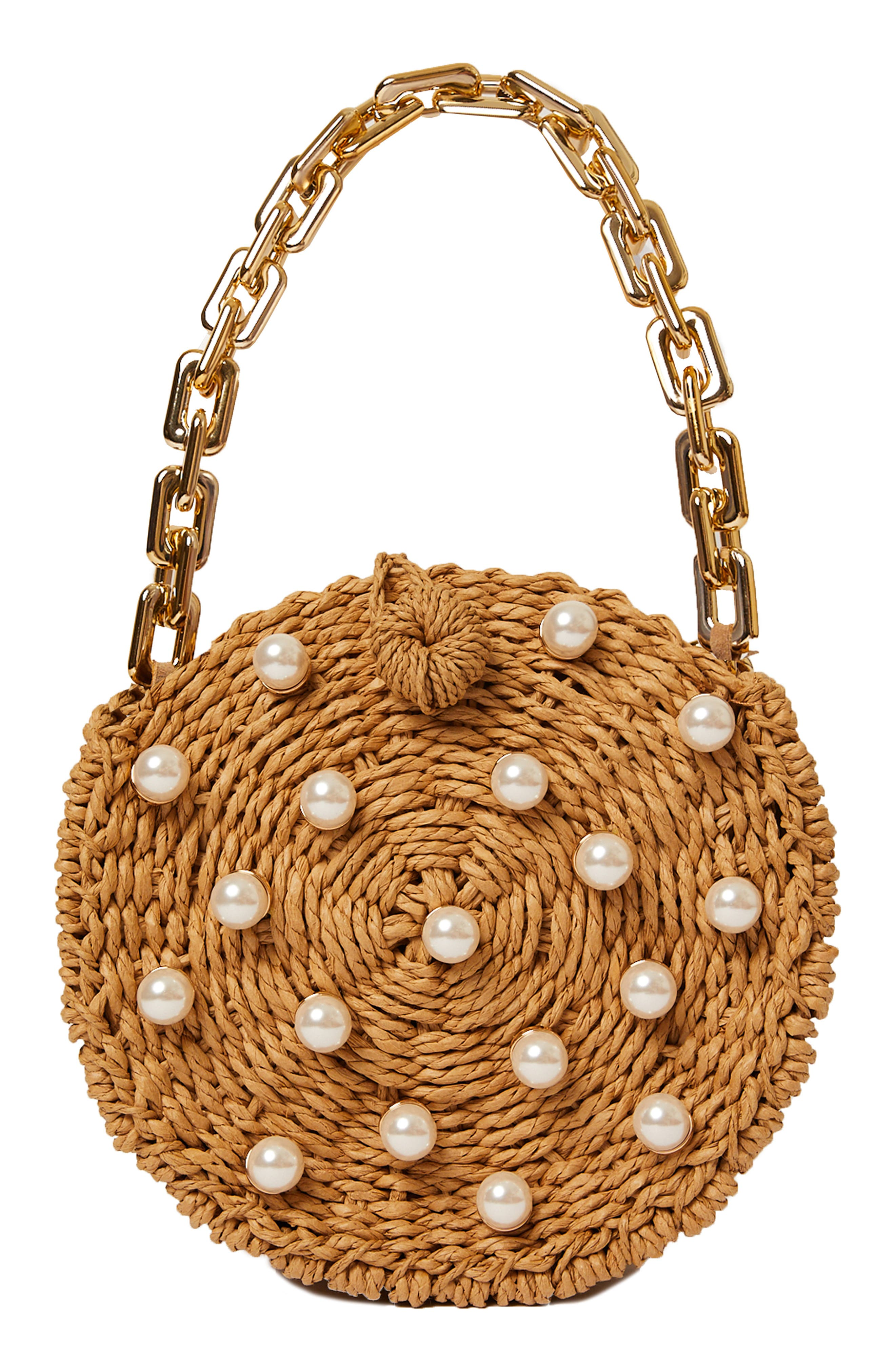 Willow Imitation Pearl Shoulder Bag