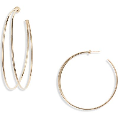 Jennifer Zeuner Simone Double Hoop Earrings