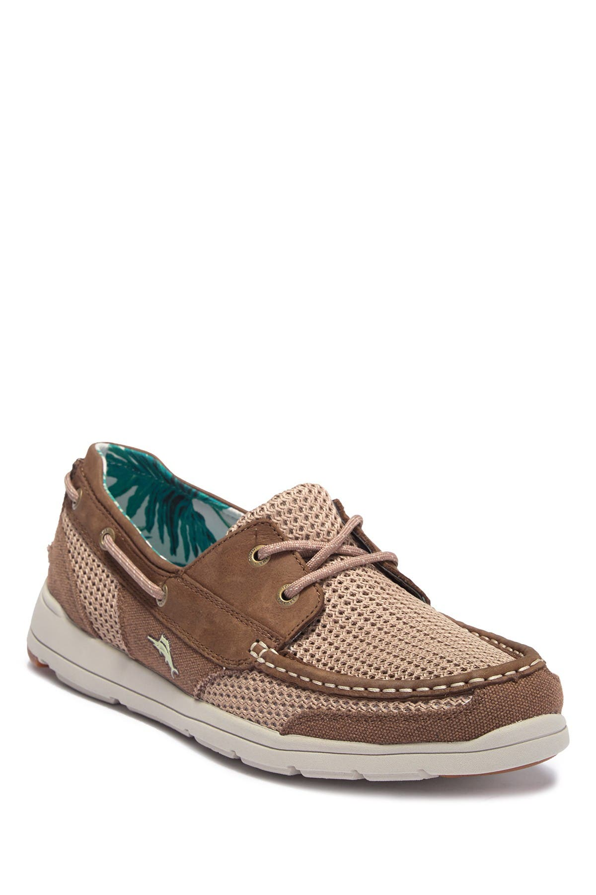 Image of Tommy Bahama Mesh Contrast Boat Shoe
