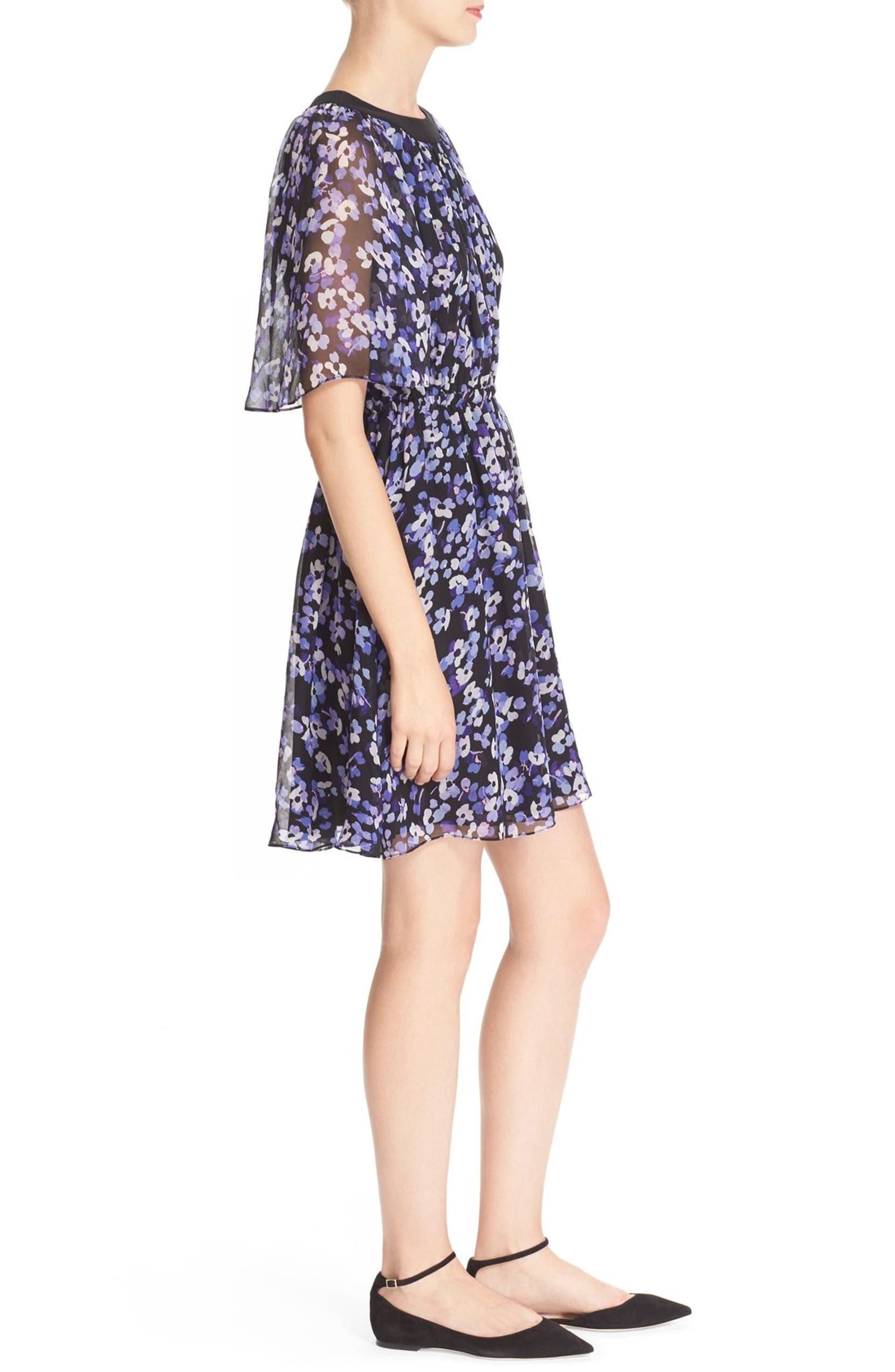 31f91d793b578 kate spade new york hydrangea print chiffon dress | Nordstrom
