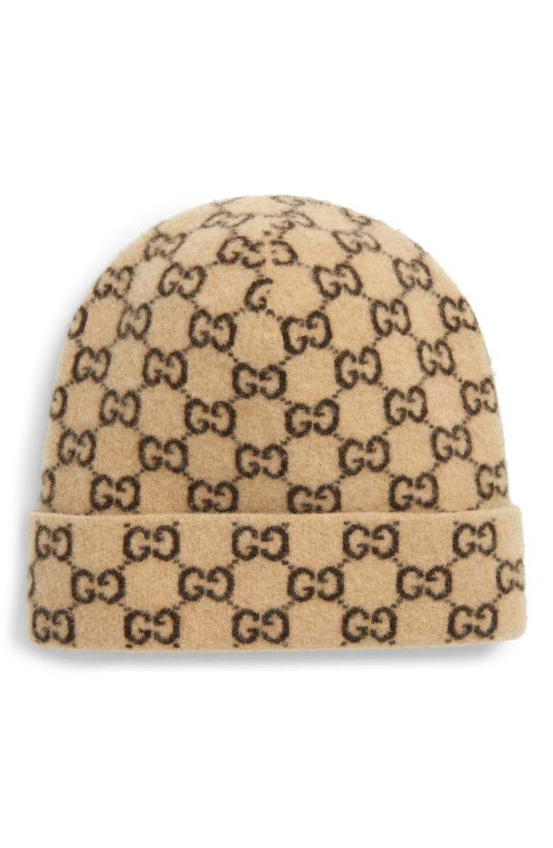 GUCCI GG Wool Hat, Main, color, 267