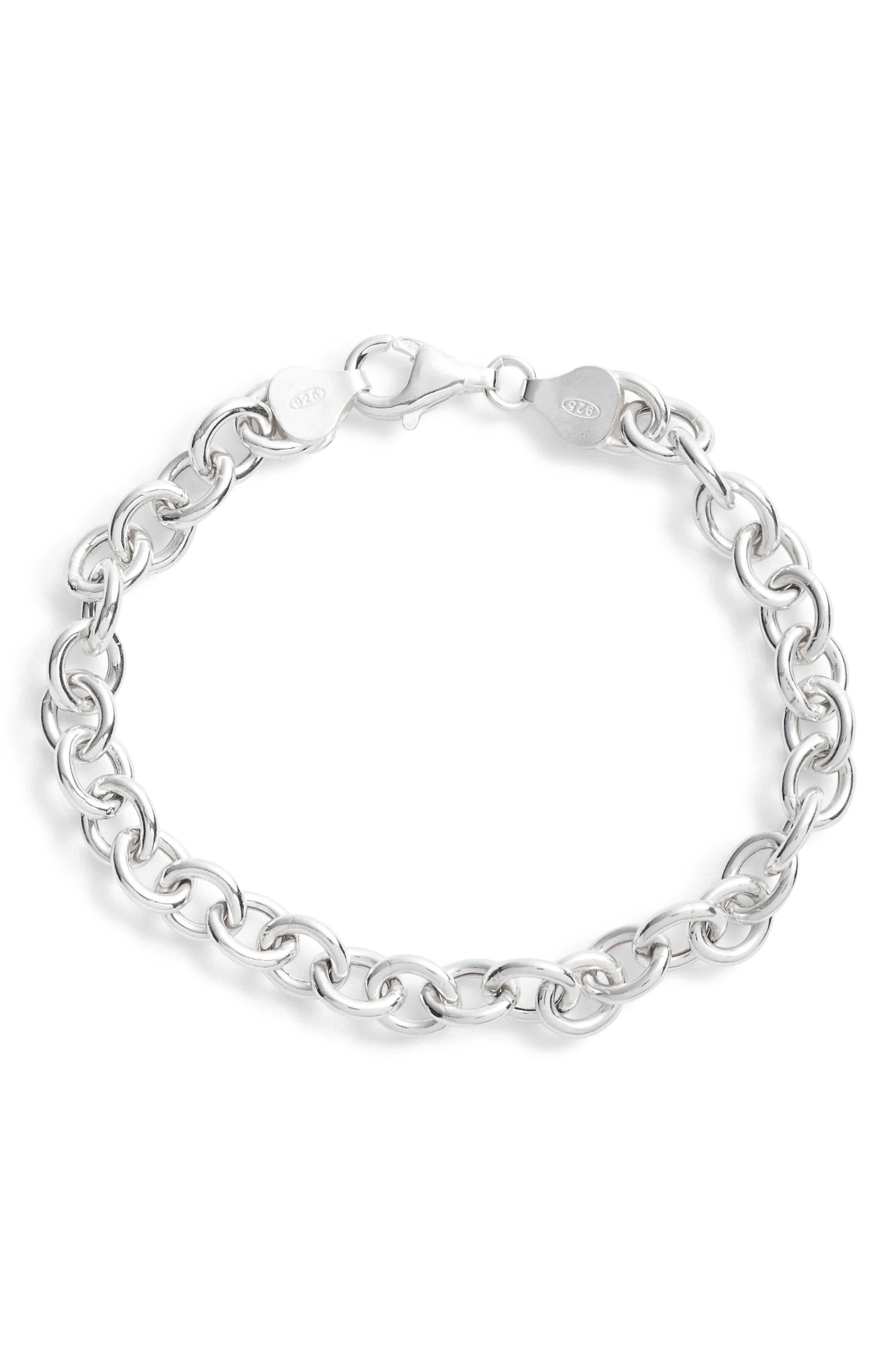 Women's Argento Vivo Classic Chain Bracelet
