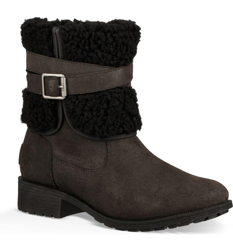 ecf327b2490 Blayre III Wool Cuff Bootie