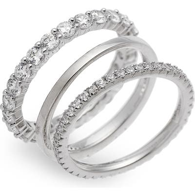Nordstrom Set Of 3 Stacking Rings