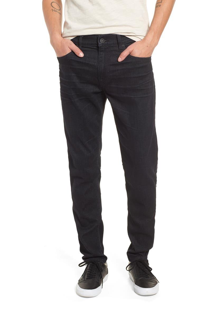 HUDSON JEANS Zack Skinny Fit Jeans, Main, color, 001