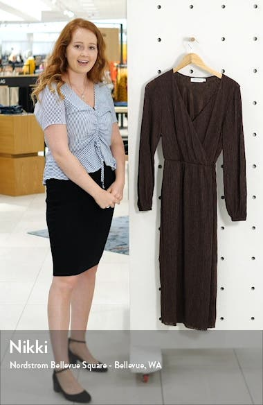 Long Sleeve Midi Dress, sales video thumbnail