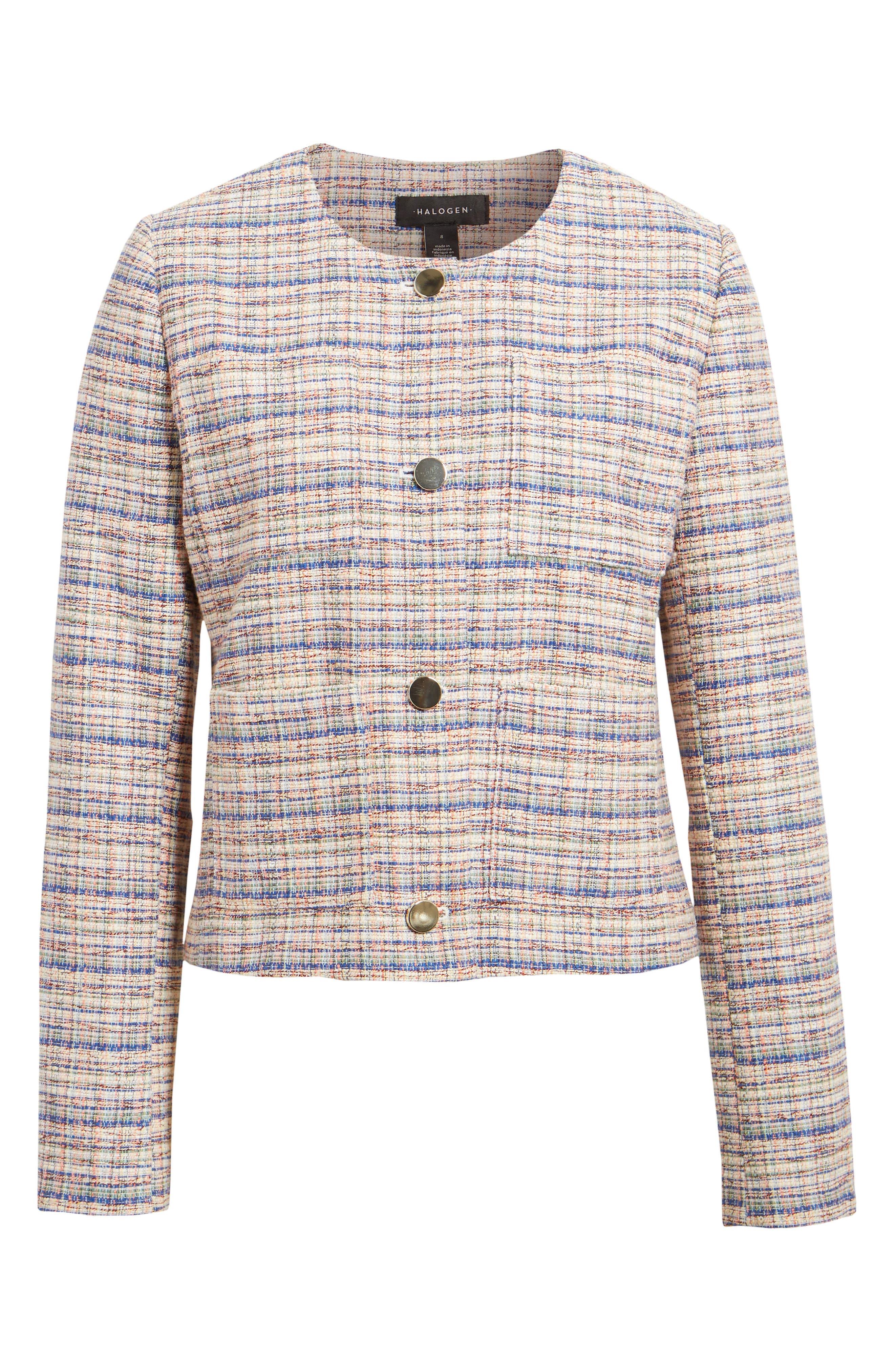 Image of Halogen Tweed Jacket