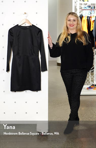 Long Sleeve Sheath Dress, sales video thumbnail