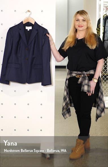 Jatinda Shadow Check Virgin Wool Jacket, sales video thumbnail